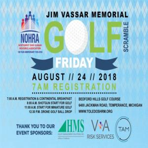 2018 Jim Vassar Memorial Golf Outing
